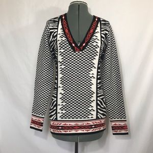Anthropologie Hale Bob Fitted Sweater